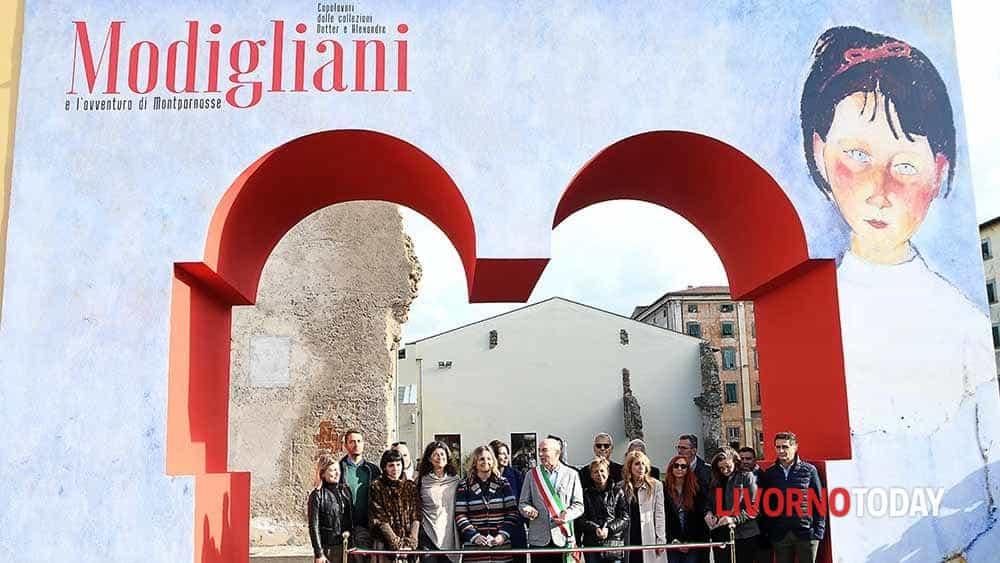 Mostra Modigliani, taglio del nastro al Museo della Città
