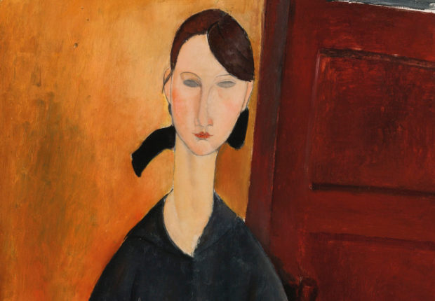 Paulette Jourdain, by Amedeo Modigliani