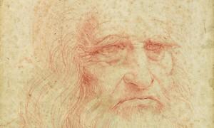 Leonardo da Vinci. Autoritratto. Biblioteca Reale di Torino