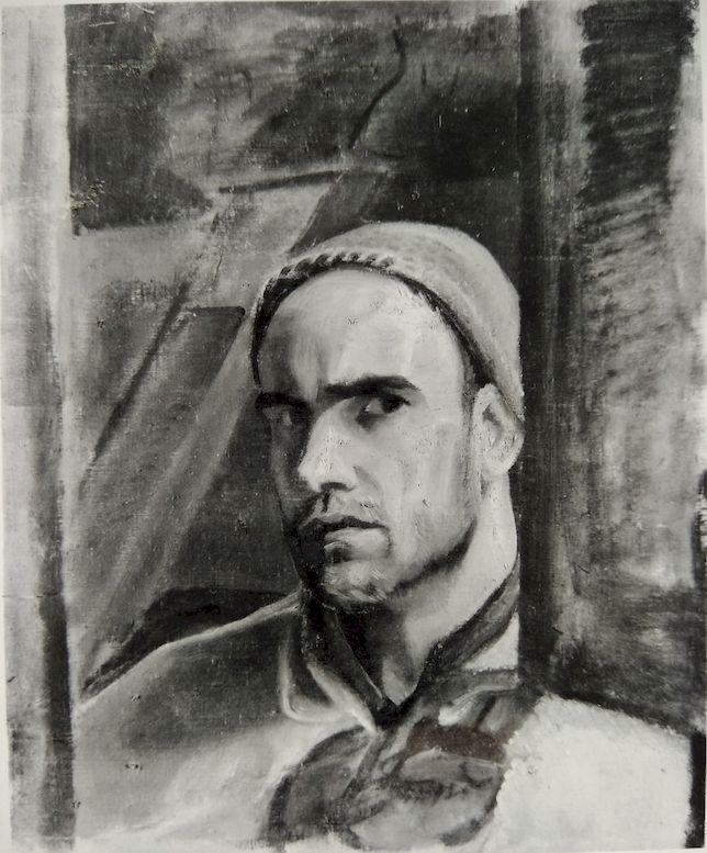 2_Autoritratto-cn-berretto-di-lana-1925_OLIO-TELA-49X40