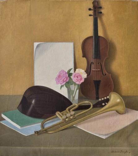 Antonio-Donghi-Strumenti-musicali-1935-olio-su-tela-910x1024