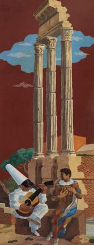 Gino-Severini-La-leçon-de-musique-1928-–-1929-olio-su-tela-1605-x-715-cm-395x1024
