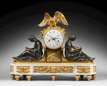 Jean-Antoine-Lépine-A-Louis-XVI-mantel-clock-of-eight-day-duration