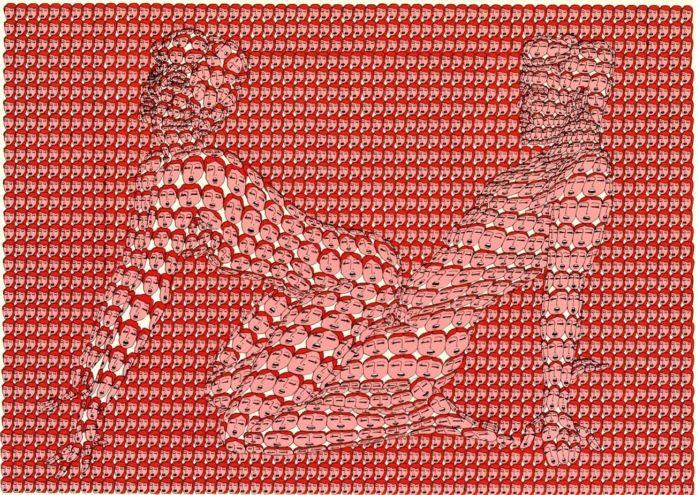 Thomas-Bayrle-dalla-serie-Feuer-im-Weizen-Sexmappe-1970-696x495