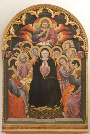 Fig. 13_Taddeo di Bartolo, Pentecoste, 1403, GNU