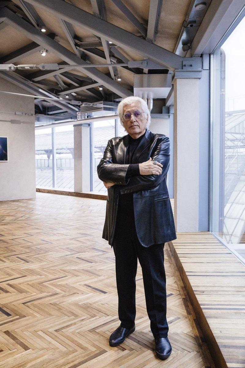 Germano-Celant-Fondazione-Prada-Osservatorio-Foto-Ugo-Dalla-Porta