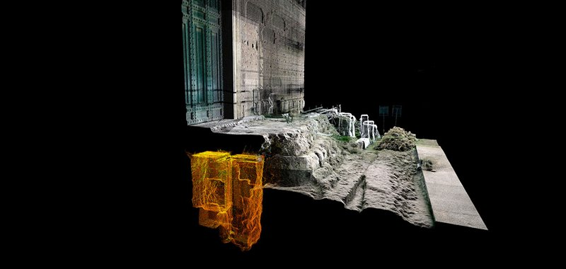 rilievo-laser-scanner-delle-strutture-del-portico-della-curia-iulia-riemerse-dopo-lo-smontaggio-della-scala-del-bartoli_790f6bc0_800x380
