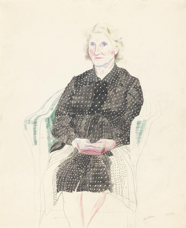 002-Mother-Paris-1972-David-Hockney-Drawing-from-Life-97-1582824838