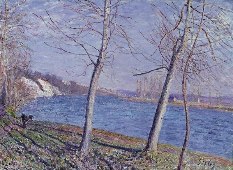 Alfred-Sisley-Sulla-riva-del-fiume-a-Veneux-1881_-©-Johannesburg-Art-Gallery