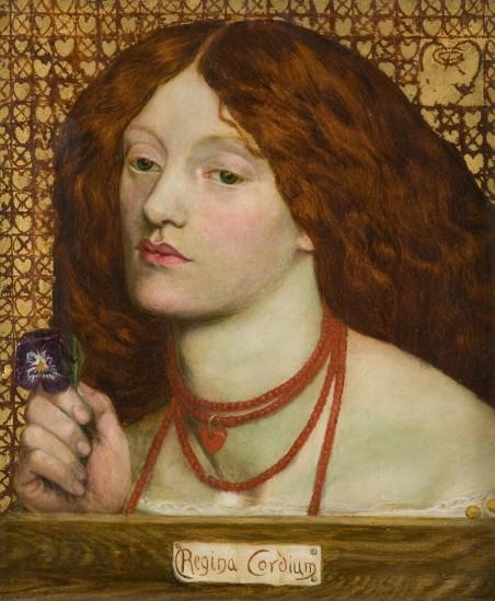Dante Gabriel Rossetti - Regina Cordium, 1860 © Johannesburg Art Gallery (2)