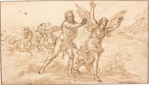 Nettuno insegue Coronis, Giovanni Battista Foggini
