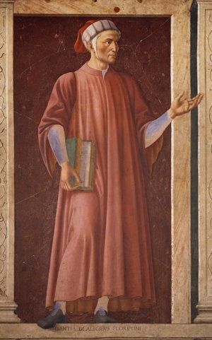 Andrea del Castagno-Dante
