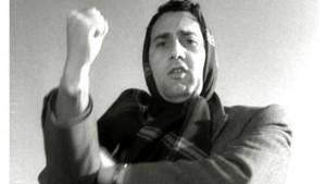 Alberto Sordi nel film I Vitelloni: Lavoratori... Fan culo!