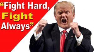 """Donald Trump: """"Combatti duro, combatti sempre"""""""