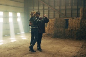 TOM AT THE FARM, (aka TOM A LA FERME), from left: Xavier Dolan, Pierre-Yves Cardinal, 2013.