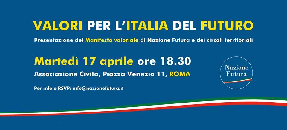Valori Per L Italia Del Futuro Il Blog Di Francesco Giubilei