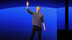 Facebook CEO Mark Zuckerberg makes his keynote speech during Facebook Inc's annual F8 developers conference in San Jose