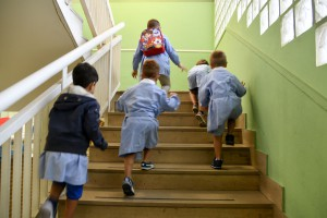 Ingresso scuola Materna in via Aretusa