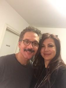 Beppe Fiorello e Katia Noventa