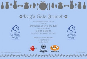 Dog's Gala Brunch.locandina