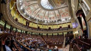 Il Congresso dei Deputati a Madrid