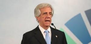 Tabaré Vázquez, presidente del'Uruguay uscente, per la corrente Socialista.