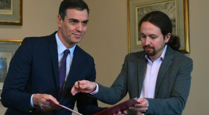 Pedro Sánchez e Pablo Iglesias cerca alleati tra gli indipendentisti
