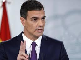 Il presidente del Governo di Spagna,Pedro Sánchez, 49 anni, economista, chiede un patto politico tra tutti i partiti del Congreso come nel 1977 pe ricostruire l'economia spagnola tutti assieme.