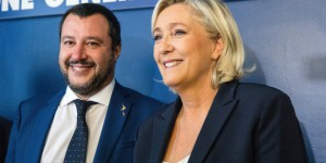 Italy Deputy PM Matteo Salvini Meets French Nationalist Marine Le Pen To Discuss EU Alternative