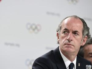 134a sessione del CIO con l'annuncio della città che organizzerà i Giochi Olimpici Invernali 2026. 134a sessione del CIO con l'annuncio della città che organizzerà i Giochi Olimpici Invernali 2026.