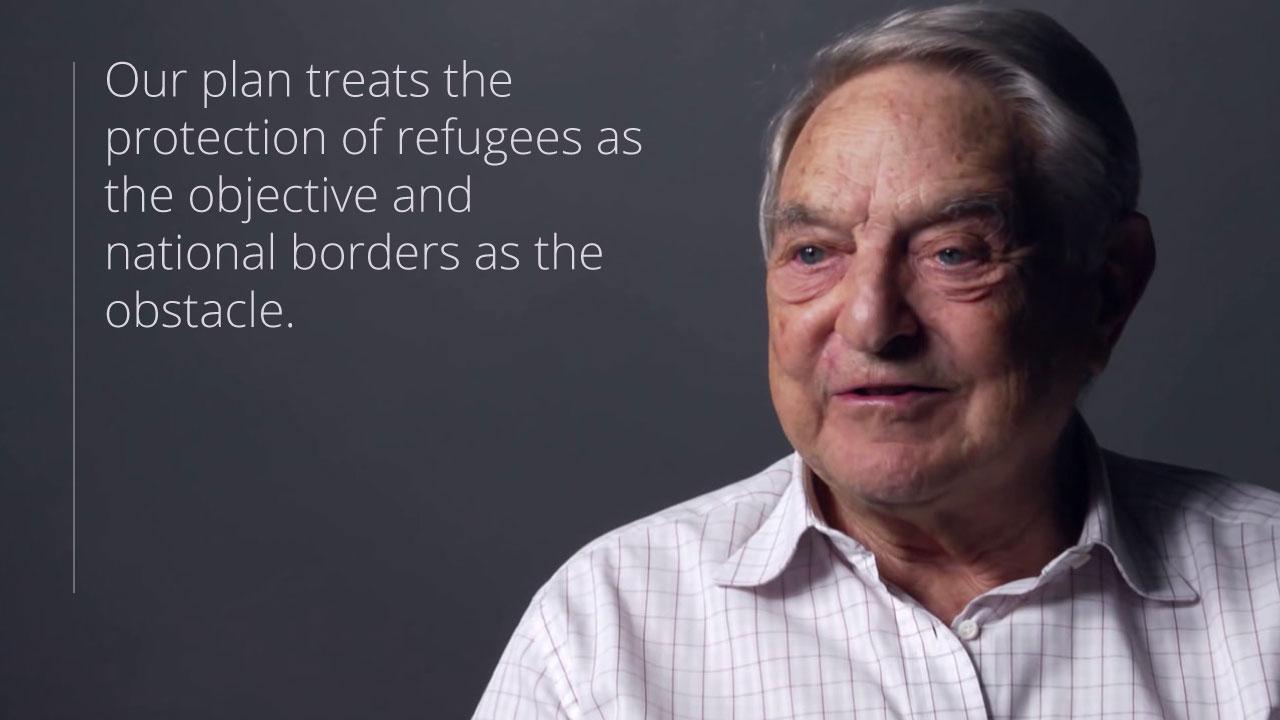 Risultati immagini per Boldrini e Soros, santi subito