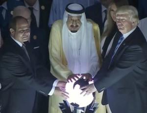 Trump-Salman-al-Sissi-globe-600x461
