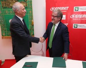 Enervit e Regione Lombardia firmano accordo competitività