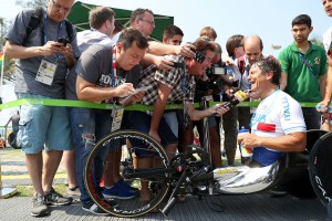 Paralimpiadi 2016, handbike