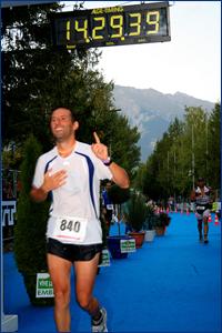 Il triatleta campione di memoria