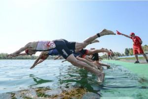 casper stornes worle triathlon i bermuda