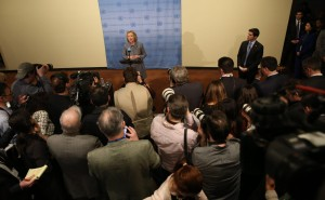 Hillary Clinton at the United Nations