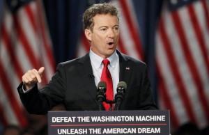 Usa, senatore Rand Paul annuncia la sua candidatura per la presidenza