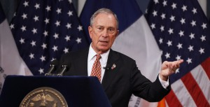 New York City Mayor Michael Bloomberg presents his proposed executive 2013 New York City budget at City Hall in New York