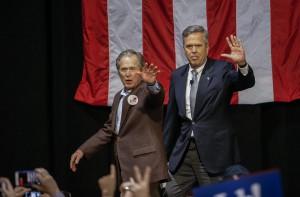 Jeb Bush campaigns in North Charleston, South Carolina, USA