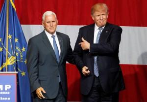 Donald Trump prosegue nell'Indiana la sua campagna per le presidenziali Usa