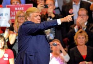 Donald Trump prosegue la sua campagna presidenziale a Cincinnati