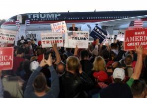 DONALD TRUMP PRESIDENTIAL CAMPAIGN, WILMINGTON, OHIO, USA, 2016-11-04