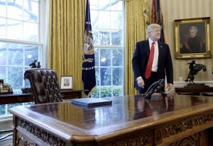 President Trump signs Executive Orders regarding trade - DC