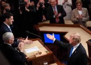 Donald Trump e il discorso sullo stato dell'Unione
