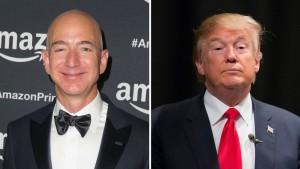Bezos e Trump