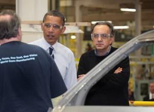 Obama e Marchionne