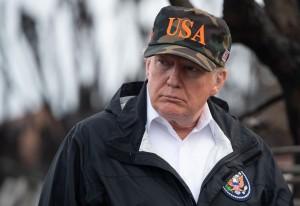 Donald Trump in California in vista ai luoghi devastati dagli incendi