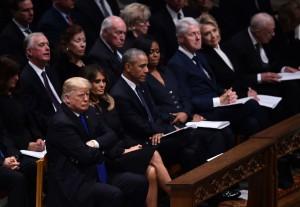 Trump, Obama e Clinton