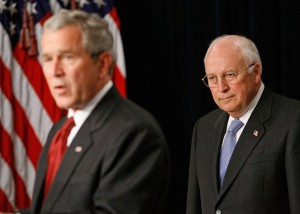 Cheney e Bush